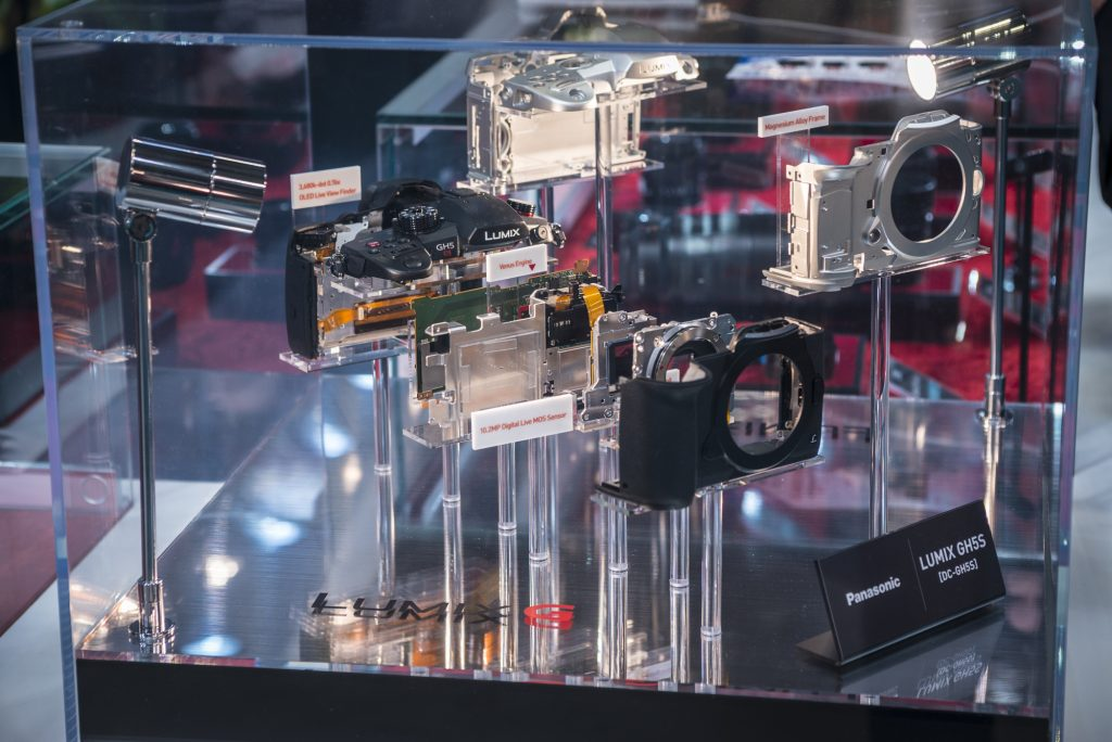 The Panasonic GH5s exploded view at The Photography Show