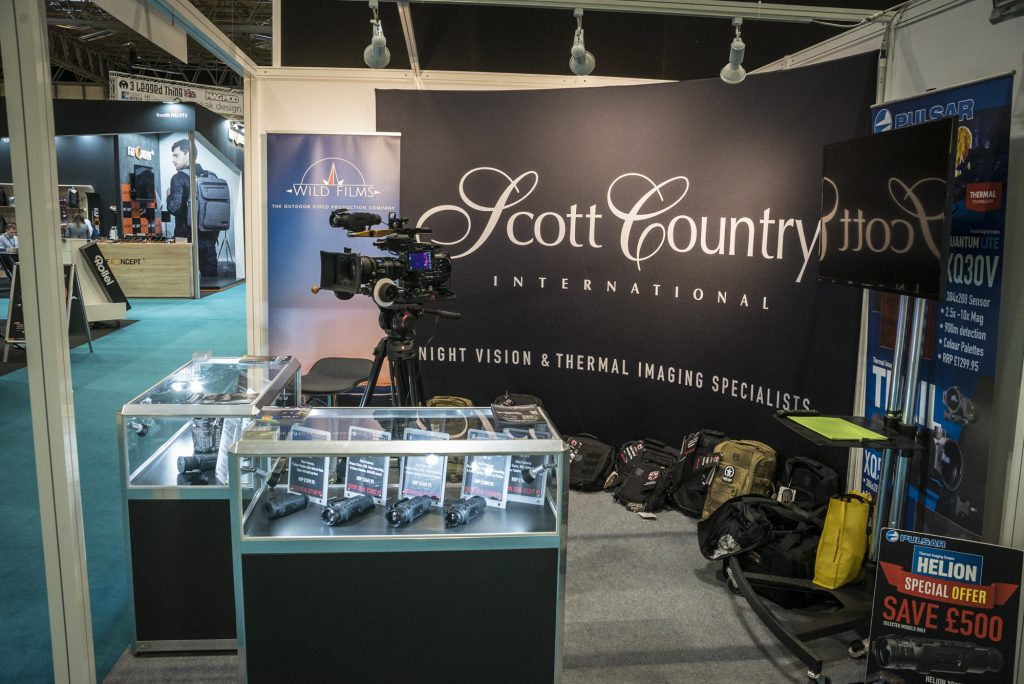 The Scott Country stand at The Photography Show